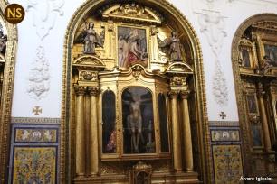 Retablo del cristo del Coral, convento de Santa Paula | Álvaro Iglesias
