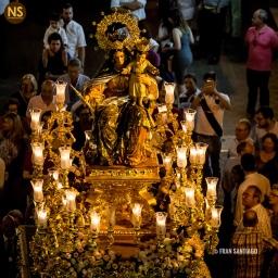 María Auxiliadora de Triana. Procesión 2017 | Francisco Santiago