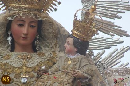 Virgen de la Alegría. Procesión 2017 | José Carlos B. Casquet