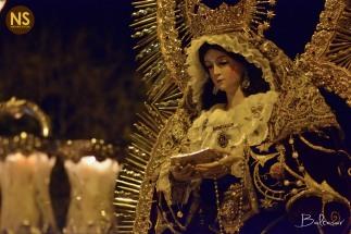 Virgen de la Anunciación, Juan XXIII. Procesión 2017 | Baltasar Núñez