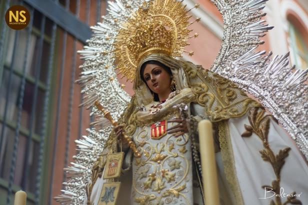 Mercedes de Puerta Real. Traslado de regreso a su capilla 2017 | Baltasar Núñez