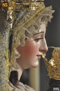 Virgen de las Nieves, Santa María la Blanca. Besamanos 2017 | Álvaro Aguilar