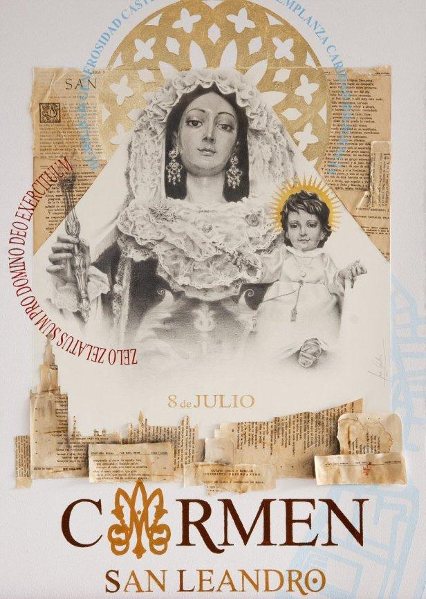 Cartel Carmen San Leandro