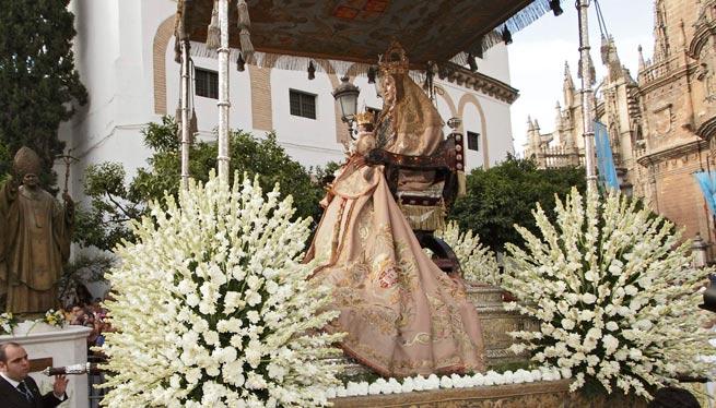 El día de la virgen de los Reyes