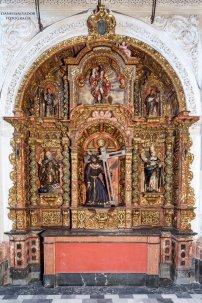 Restauración retablos de la Magdalena | Twitter RP Santa María Magdalena