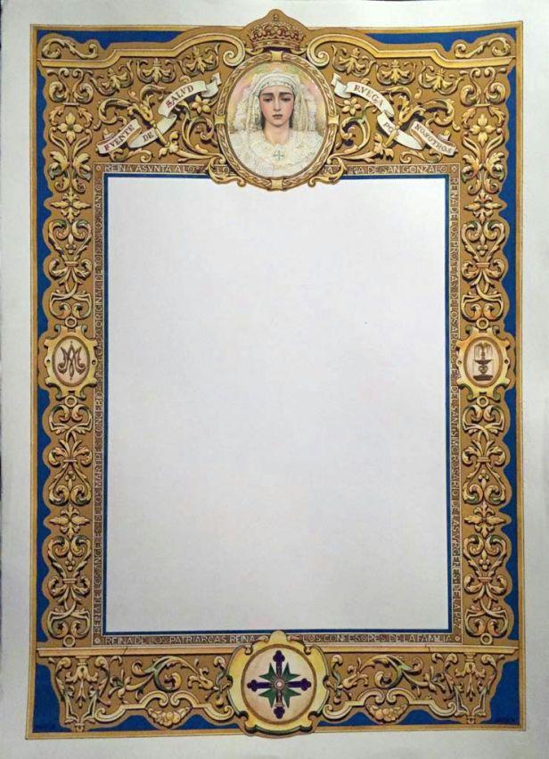 Orla extraordinaria coronación de la virgen de la Salud de San Gonzalo
