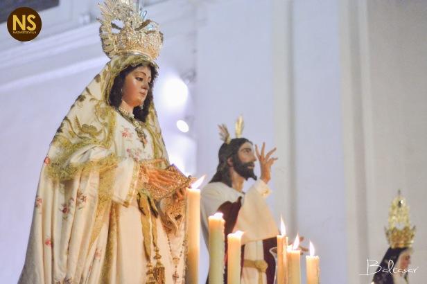 Virgen de la Encarnación. Traslado de la Cena a San Román 2017 | Baltasar Núñez