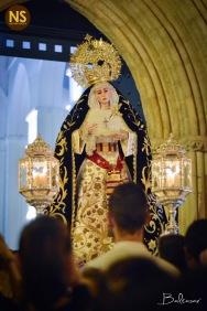 Virgen del Subterráneo. Traslado de la Cena a San Román 2017 | Baltasar Núñez