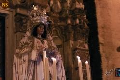 Virgen de la Encarnación, la Cena. Traslado a San Román 2017 | José Carlos B. Casquet