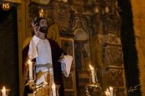 Cristo de la Sagrada Cena, la Cena. Traslado a San Román 2017 | José Carlos B. Casquet