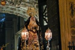 Virgen del Subterráneo, la Cena. Traslado a San Román 2017 | José Carlos B. Casquet