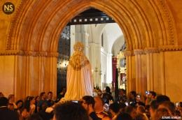 Virgen de la Encarnación, la Cena. Traslado a San Román 2017 | Álvaro Aguilar