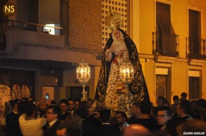 Virgen del Subterráneo, la Cena. Traslado a San Román 2017 | Álvaro Aguilar